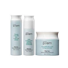 MAKE P:REM Peel me. Radiance Peeling Set  best Korean beauty skincare K-beauty product in Australia Nudie Glow www.nudieglow.com