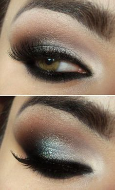 Завораживающий макияж Смоки Айс  ::: onelady.ru ::: #makeup #eyes #eyemakeup