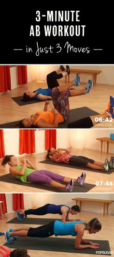 3 Minutes and 3 Moves Away From Strong, Sculpted Abs
