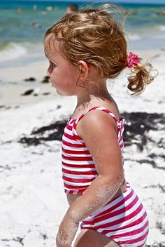 Kids ~ Is there anything better than playing in the sand at the beach in the summertime?