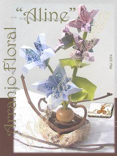Origami, Flower Arrangements, Place Cards, Place Card Holders, Flowers, Floral Arrangements, Origami Paper, Origami Art