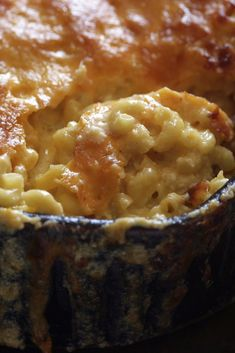 NYT Cooking: There are two schools of thought about macaroni and cheese: some like it crusty and extra-cheesy (here's our recipe), while others prefer it smooth and creamy. But most people are delighted by any homemade macaroni and cheese.  It is light years ahead of the boxed versions.This creamy version has one powerful advantage for the cook: it is made with dry pasta, so there's no need for precooking. ...