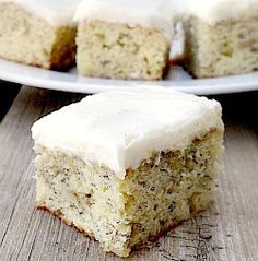 Banana Bars with Cream Cheese Filling