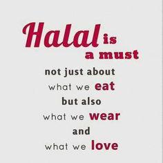 Halal. Islam