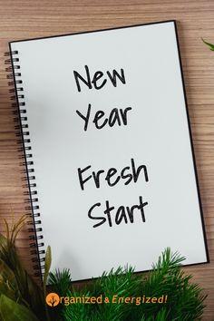 New Year, New Start! #OrganizedandEnergized #2021 #NewStart #OrganizedChecklist #AddSpaceToYourLife