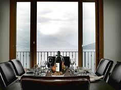 Indoor or al fresco dining- panoramic lake views. lakefront in Pianello Del Lario. 5 BR. lakefront walk to Musso