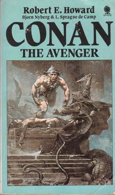 Number 10 on Sphere's list. Cover illustration by Frank Frazetta. First published by Sphere in My copy is from Watercolor Paintings Abstract, Watercolor Artists, Abstract Oil, Painting Art, Fantasy Books, Fantasy Art, Robert E Howard, Street Art Utopia, Indian Paintings