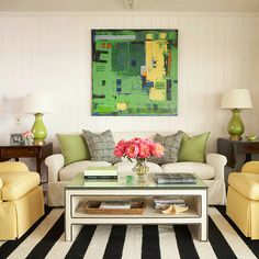 belle maison: BM 2013 Archives: Going Bold with Graphic Rugs