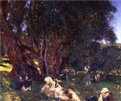 Albanian Olive Pickers - John Singer Sargent, 1909