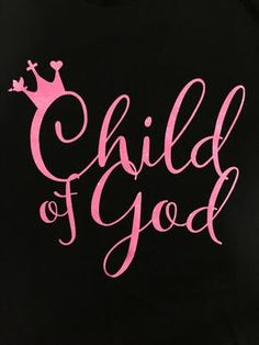 In the bible, God reminded us many times that we are the Children of God. We are the princes and princesses in Heaven. We carried His cross on our back, then walked out with the crowns on our heads. ""