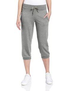 5a0c11952c60 PUMA Women s Capri Sweat Pant PUMA.  34.99. Machine Wash. 88% Organic  Cotton 12% Polyester. metal stud with lasered Puma Cat.