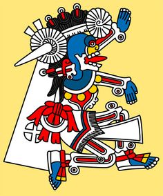 Mictlantecutli - The Owl Man, Aztec god of death