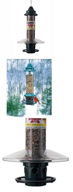 Seed Feeders 42350: Brome Squirrel Buster Plus Squirrel Proof Bird Feeder With Weatherguard Baffle -> BUY IT NOW ONLY: $105.9 on eBay!