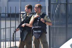 German policemen got the bullet proof vest design right
