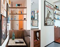 Blog Orange Design: Decoração e tal: Dividindo ambientes com estantes