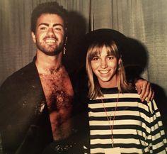 #GeorgeMichael #DebbieGibson #1988 #Phoros