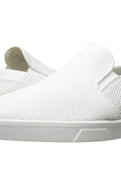Calvin Klein Ives (White Knit Weave) Men's Slip on  Shoes - Calvin Klein, Ives, F1246-053, Footwear Closed Slip on Casual, Slip on Casual, Closed Footwear, Footwear, Shoes, Gift - Outfit Ideas And Street Style 2017