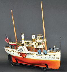 Antiques and the Arts Online - Marklin's 'Chicago' Achieves Record Price Of $264,500