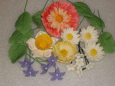 Gumpaste Flower Assortment Tinkerbelle Birthday by GumpasteGarden, $28.00 #pcfteam