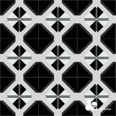 Painel Slim Plastt na estampa Mix-and-mach V2 , para os amantes de preto e branco.
