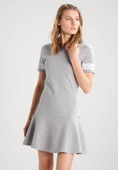 5c6c70b4df Hilfiger Denim. Sukienka z dżerseju - grey. Materiał 80% bawełna