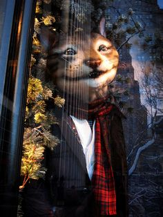 Christmas Windows at Bergdorf Goodman Department Store