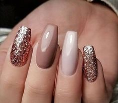 If it is time for you to do your next nail polish, then below you can see the top 10 nail polish colors for You should not miss any of these. What is nail polish? What is known as nail polish is some kind of lacker that has been used for … Coffin Shape Nails, Coffin Nails Long, Nails Shape, Coffin Nails Glitter, Coffin Nails 2018, Acrylic Summer Nails Coffin, Glitter Eyeliner, Glitter Makeup, Ongles Beiges