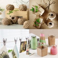 1Roll 50M Natural Burlap Hessian Jute Twine- Please allow up to 21 days for shipping