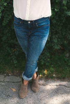 Megan Styled: The Boy Jean | The Fresh Exchange