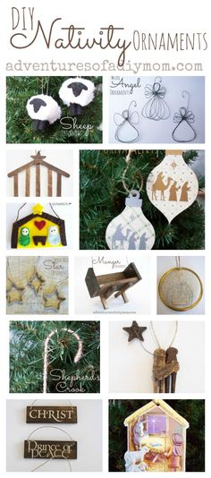 How to Make a Nativity Stable Ornament Homemade Christmas Decorations, Christmas Crafts For Kids, Christmas Activities, Diy Christmas Ornaments, Christmas Fun, Holiday Crafts, Natural Christmas, Christmas Nativity, Christmas Printables