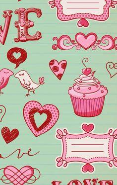 Cupcake!  iPhone wallpaper