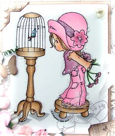 Image detail for -Whimsy Stamps July rubber stamp and die RELEASE DAY!