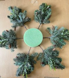 If you're looking for a unique Christmas decoration for your front door you'll love this DIY wreath idea. This Step by step xmas tutorial will show you how to make a beautiful wreath your neighbors will want to steal. Christmas Yarn Wreaths, Christmas Wreaths For Front Door, Christmas Ornament Wreath, Winter Wreaths, Spring Wreaths, Summer Wreath, Snowman Wreath, Diy Snowman, Unique Christmas Decorations