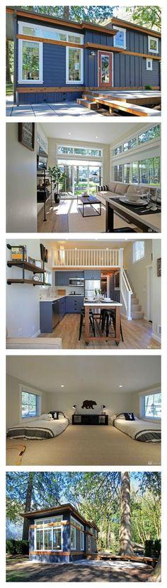 No me lo esperaba que una casa tan pequeña podría ser tan bien organizada. Lo tiene todo. Lo que necesito y mas! Ya sabes futuro esposo, no tienes excusa para no conseguir un lugar para vivir.