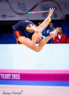 Sara Llana (Spain), backstage World Championships 2015