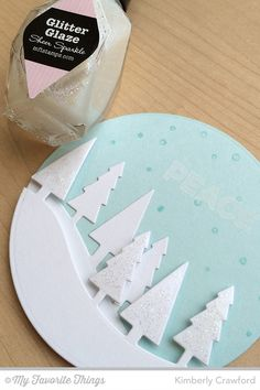 For the Love of Paper: more Christmas tree ornaments; MFT November Creative Challenge