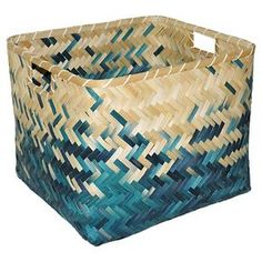 Indigo Ombre Bamboo Milk Crate Large - Threshold™