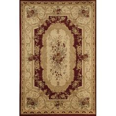 Wildon Home ® Dashi Red/Ivory Area Rug & Reviews | Wayfair