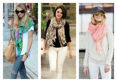 5 looks com lenços e echarpes para mudar o visual