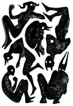 New drawing sketches demon Ideas Daniel Machauer Demon Drawings, Dark Art Drawings, Drawing Sketches, Drawing Ideas, Drawing Drawing, Drawing Poses, Tattoo Drawings, Arte Obscura, Creepy Art