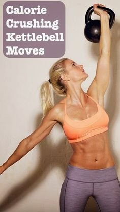 1 More Kettlebell, Please! Calorie-Torching Exercises!