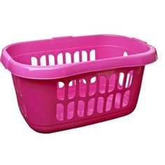 Pink Plastic Laundry Basket Fascinating Because Who Can Resist A Purple Laundry Basket For My Purple Laundry Decorating Inspiration