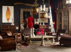 Amazing room by designer Timothy Oulton - via Freshome
