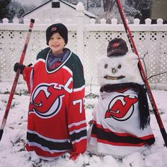 Devils fans are enjoying their Snow Day.