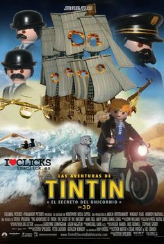 Playmobil Lego Film, Lego Movie, Captain Haddock, Playmobil Toys, I Love Cinema, Film D'animation, Poster Series, Columbia Pictures, Paramount Pictures