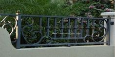 For between garage columnsAluminum Fence, Automatic Fence, Decorative Fence Designs