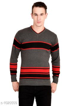 Sweaters Trendy Woolen  Blend Sweater Fabric: Woolen   Sleeves: Full Sleeves Are Included Size:  L (Refer Size Chart) Length: Refer Size Chart Type: Stitched Description: It Has 1 Piece Of Men's Sweater Work Printed Country of Origin: India Sizes Available: M, L   Catalog Rating: ★4.2 (470)  Catalog Name: Supiriyo Men's Trendy Woolen Sweaters Vol 1 CatalogID_123119 C70-SC1208 Code: 135-1020509-