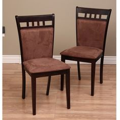 @Overstock - Enrich your dining experience with these Shirlyn chairs   Furniture is made using fabric cover seat and oak wood  Set includes: 8 chairs   http://www.overstock.com/Home-Garden/Warehouse-of-Tiffany-Shirlyn-Dining-Chairs-Set-of-8/6378861/product.html?CID=214117 $511.99