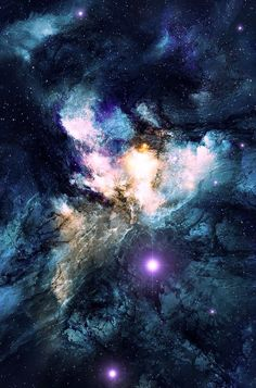 #galaxy #blue #beautiful #perfect