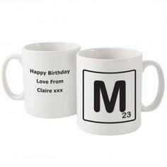 Initial Personalised Mug